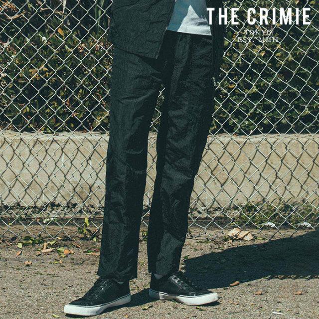 CRIMIE(クライミー) WRINKLE BAKER PANTS 【ベイカーパンツ】【ブラック カーキ アメカジ ミリタリー】【シンプル おしゃれ】【CR0