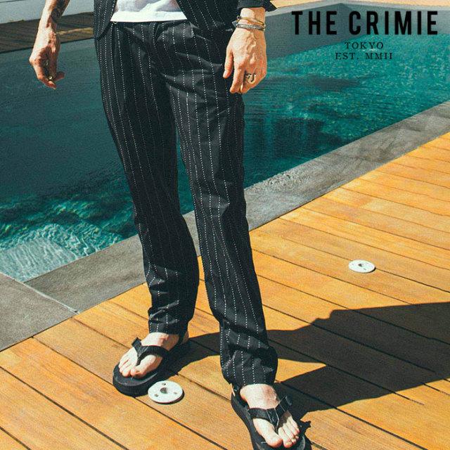 CRIMIE(クライミー) NEIL STAR STRIPE PANTS 【パンツ】【ブラック アメカジ ミリタリー】【シンプル おしゃれ】【CR01-02L1-PL04
