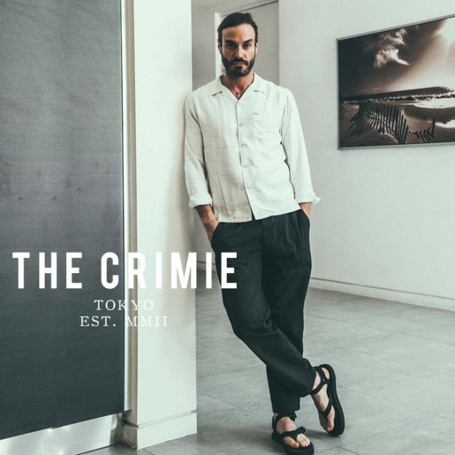 【SALE30%OFF】 CRIMIE(クライミー) NYLON & COTTON BAKER PANT 【セール】【ベイカーパンツ】【ブラック ベージュ カーキ アメカ