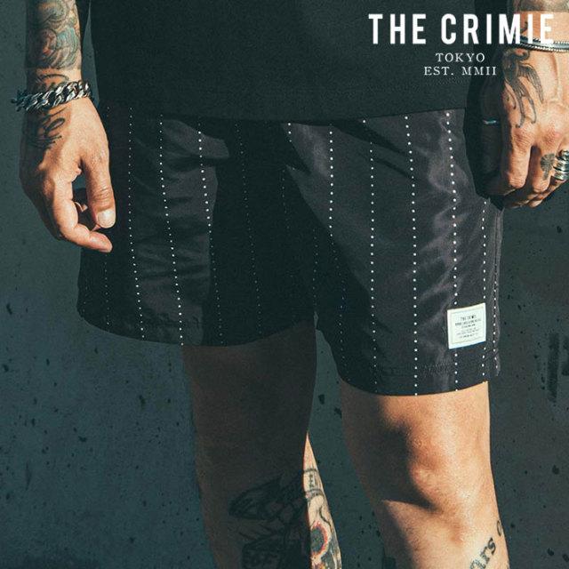 CRIMIE(クライミー) STAR STRIPE TOWN & SWIM SHORTS 【ショーツ スイムパンツ】【ブラック カーキ アメカジ ミリタリー】【シンプ