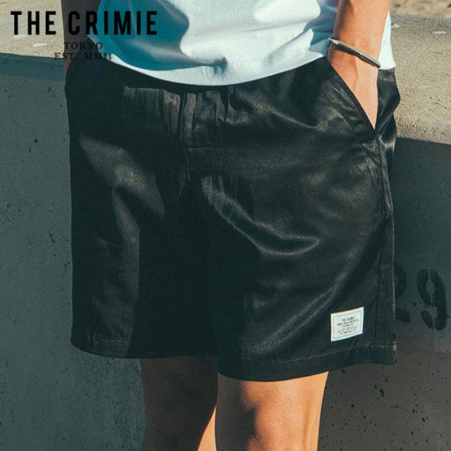 CRIMIE(クライミー) MILITARY SATAIN SHORTS 【サテン ショートパンツ 短パン】【ブラック ネイビー アメカジ ミリタリー】【シン