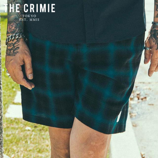 CRIMIE(クライミー) OMBRE CHECK SHORTS 【オンブレショートパンツ 短パン】【ブラック ブルー レッド アメカジ ミリタリー】【シ