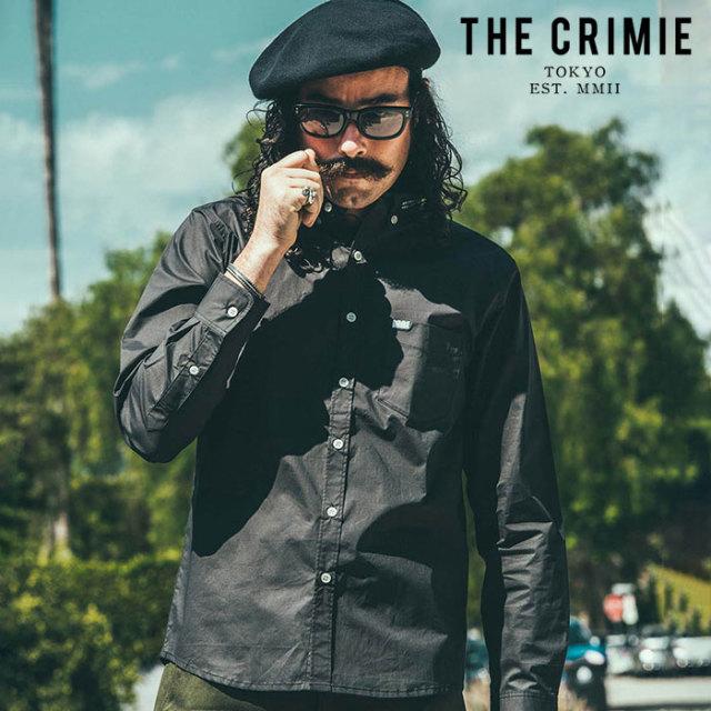 CRIMIE(クライミー) BD STRETCH SHIRT 【シャツストレッチシャツ】【ブラック ホワイト ネイビー アメカジ ミリタリー】【シンプル