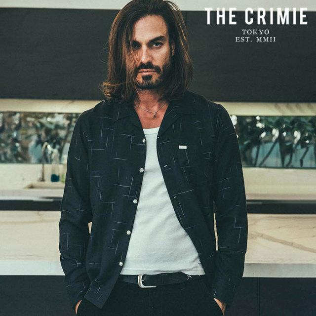 CRIMIE(クライミー) VINTAGE RAYON SHIRT 【シャツ レーヨンシャツ】【ブラック ホワイト ネイビー アメカジ ミリタリー】【シンプ
