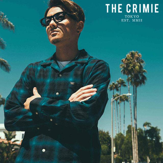 CRIMIE(クライミー) OMBRE CHECK SHIRT 【チェックシャツ 長袖シャツ】【ブラック ブルー レッド  アメカジ ミリタリー】【シンプ