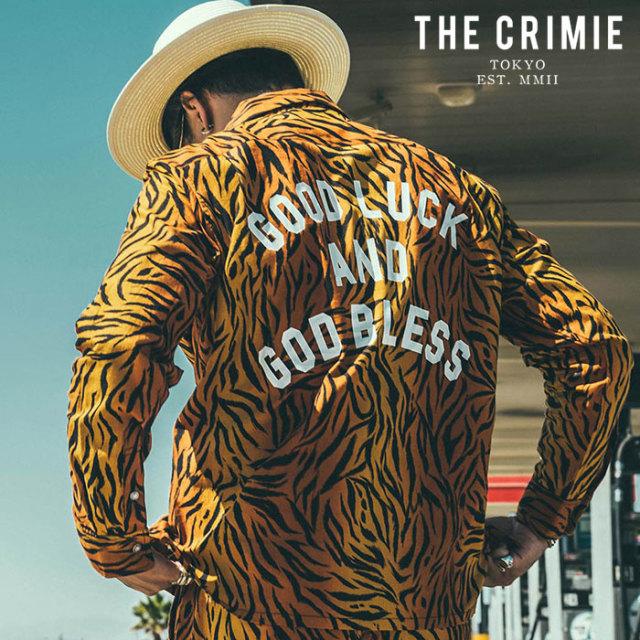 CRIMIE(クライミー) TORA GLGB SHIRT 【オープンカラーシャツ 長袖シャツ】【イエロー カーキ アメカジ ミリタリー】【シンプル お
