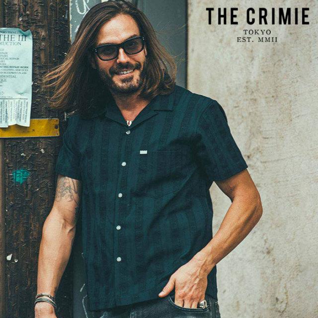CRIMIE(クライミー) MEXICAN SHORT SLEEVE SHIRT 【オープンカラーシャツ 半袖シャツ】【ネイビー ホワイト ブラック アメカジ ミ