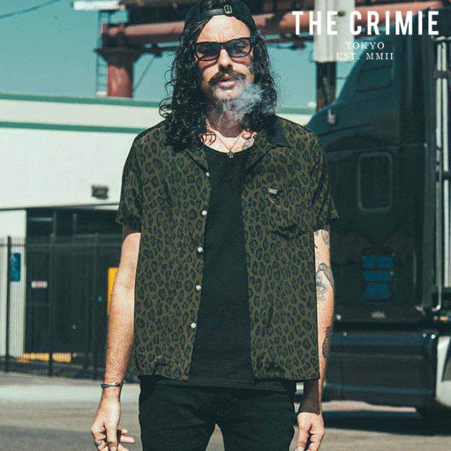 CRIMIE(クライミー) LEOPARDO RAYON SHIRT 【レーヨンシャツ 半袖シャツ】【カーキ ブルー アメカジ ミリタリー】【シンプル おし