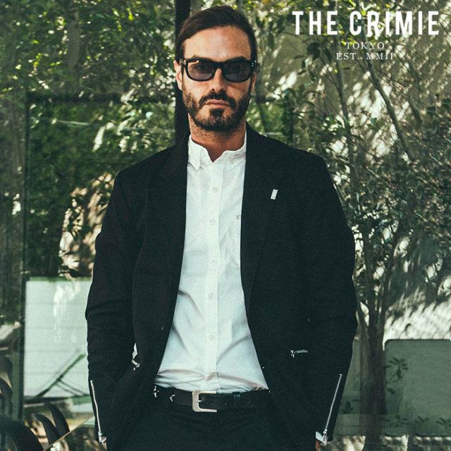 CRIMIE(クライミー) LEX CHINO JACKET 【ジャケット】【ブラック ベージュ カーキ アメカジ ミリタリー】【シンプル おしゃれ】【C