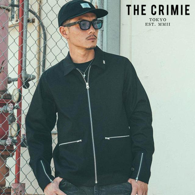 CRIMIE(クライミー) LEX CHINO SWING TOP JACKET 【ジャケット スウィングトップ】【ブラック ベージュ カーキ アメカジ ミリタリ