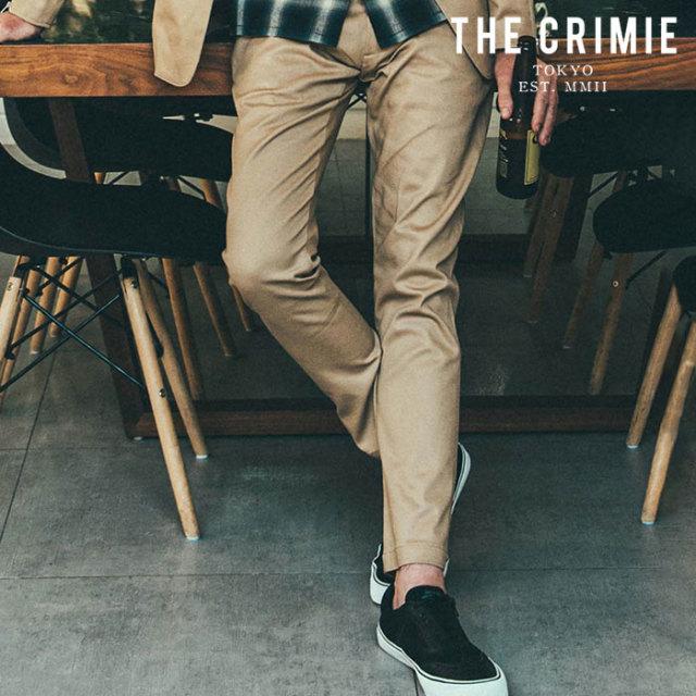 【SALE30%OFF】 CRIMIE(クライミー) LEX CHINO PANTS 【セール】【チノパンツ チノパン】【ブラック ベージュ カーキ アメカジ ミ