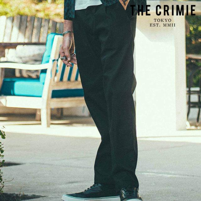 CRIMIE(クライミー) LEX CHINO 2 TACK PANTS 【チノパンツ 2タックパンツ】【ブラック ベージュ カーキ アメカジ ミリタリー】【シ