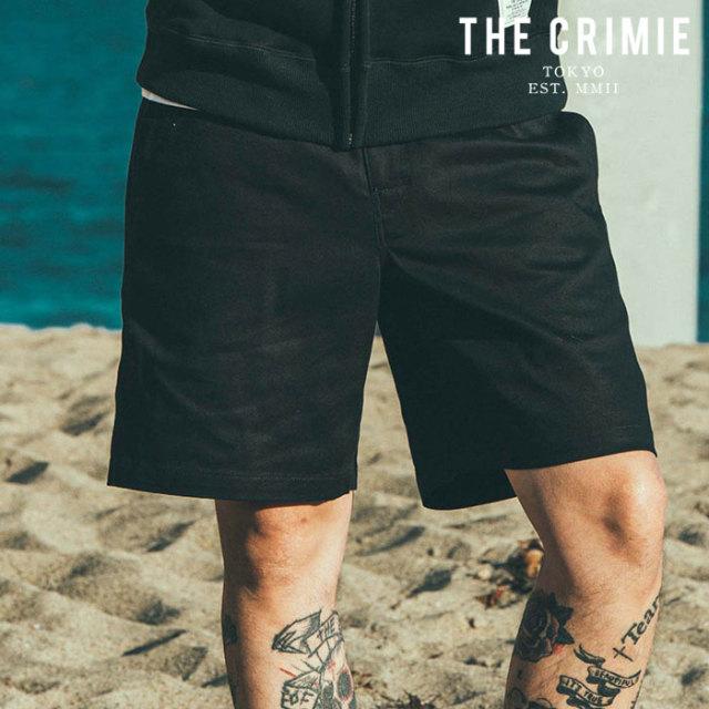 CRIMIE(クライミー) LEX CHINO SHORTS 【チノパンツ ショートパンツ】【ブラック ベージュ カーキ アメカジ ミリタリー】【シンプ