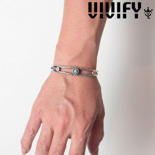 VIVIFY(ヴィヴィファイ)(ビビファイ) TwinArm Bangle/k18gold parts 【2018 2nd EXHIBITION 先行予約】【キャンセル不可】 【VIVI