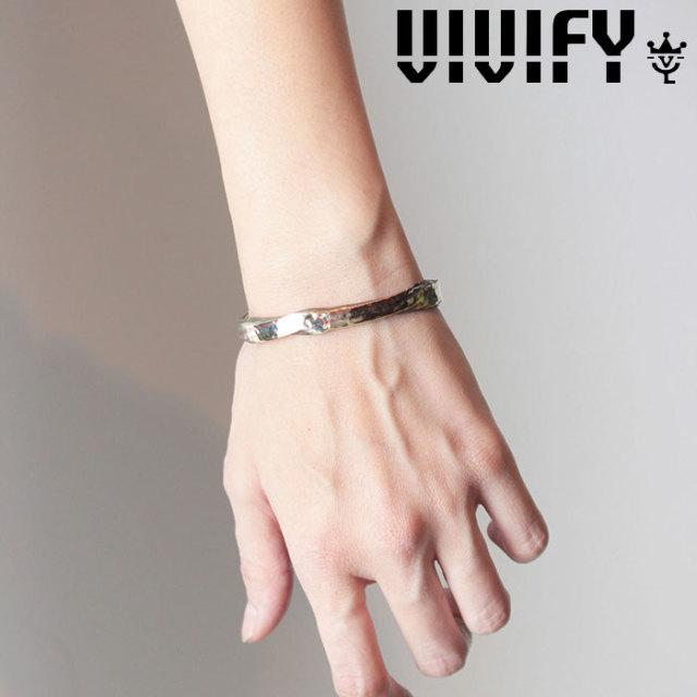 VIVIFY(ヴィヴィファイ)(ビビファイ) Layer twist Hammered Bangle / silver&brass&copper 【オーダーメイド 受注生産】【キャンセ