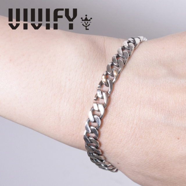 VIVIFY(ヴィヴィファイ)(ビビファイ) Seamless CavalryChainBracelet`k10 【VIVIFY ブレスレット】【メンズ レディース】【VFB-173