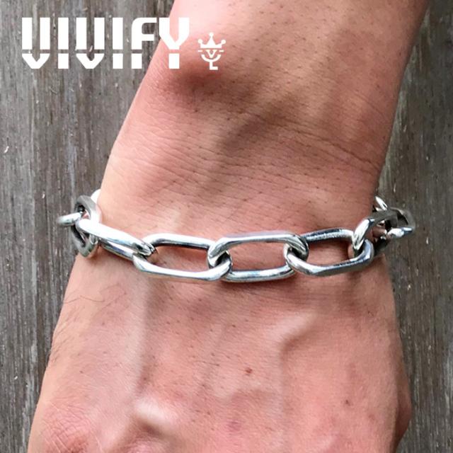 VIVIFY(ヴィヴィファイ)(ビビファイ) Some ways Heavy Chain Blacelet 【VIVIFY ブレスレット】【メンズ レディース】【VFB-175】