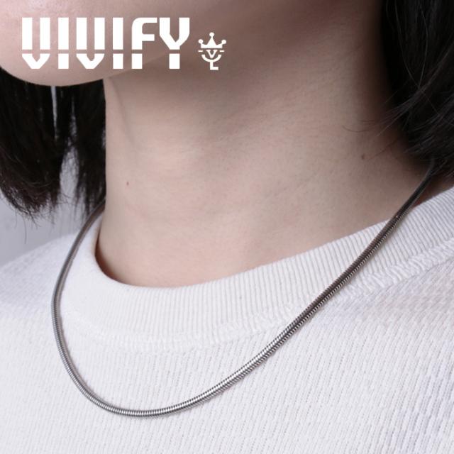 VIVIFY(ヴィヴィファイ)(ビビファイ) Herringbone Chain Necklace 【VIVIFY ネックレス】【VFCL-001】【オーダーメイド ハンドメイ