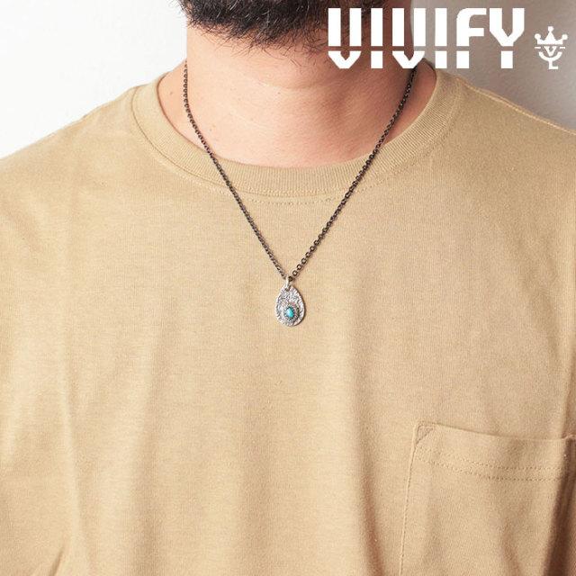 VIVIFY(ヴィヴィファイ)(ビビファイ) Texture TeardropPlate PendantHead/ Old Native Style Stone 【オーダーメイド 受注生産】【