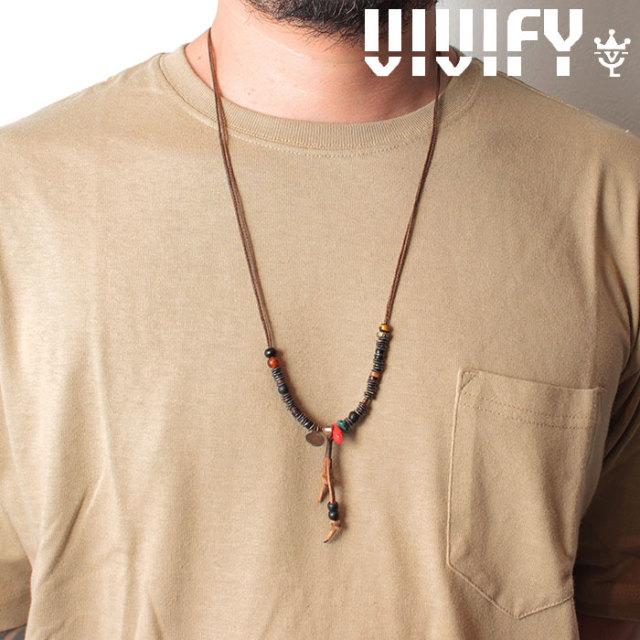 VIVIFY(ヴィヴィファイ)(ビビファイ) BackPacker's Memory Necklace 【オーダーメイド 受注生産】【キャンセル不可】 【VIVIFY ネ