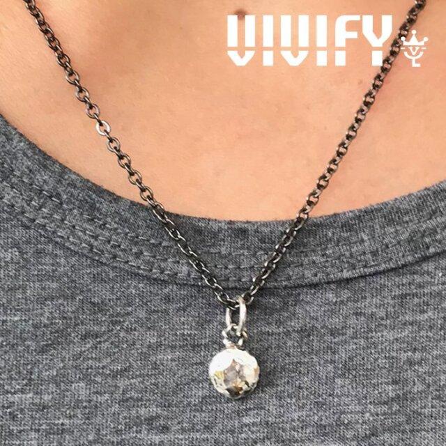 VIVIFY(ヴィヴィファイ)(ビビファイ) Comfortable Round top w/gold 【VIVIFY ペンダントトップ】【VFN-305】【オーダーメイド ハ