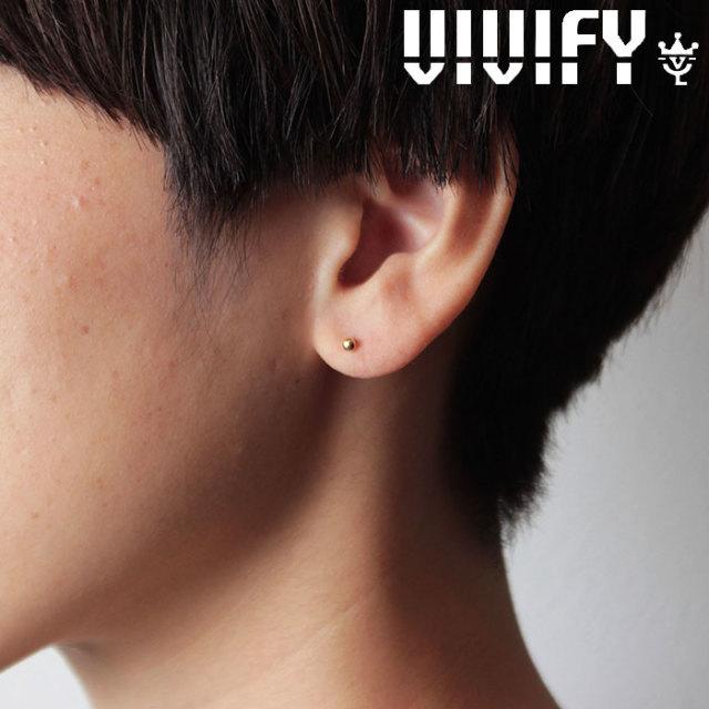 VIVIFY(ヴィヴィファイ)(ビビファイ) K18gold dot Pierce(S) 【オーダーメイド 受注生産】【キャンセル不可】 【VIVIFY ピアス】