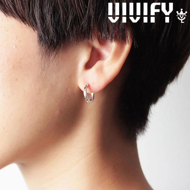 VIVIFY(ヴィヴィファイ)(ビビファイ) SquareLine Hoop Pierce(S) 【オーダーメイド 受注生産】【キャンセル不可】 【VIVIFY ピア
