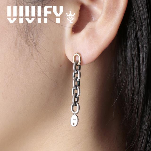 VIVIFY(ヴィヴィファイ)(ビビファイ) 2way ChainPierce`k18 【VIVIFY ピアス】【VFP-284】【オーダーメイド ハンドメイド 受注生産