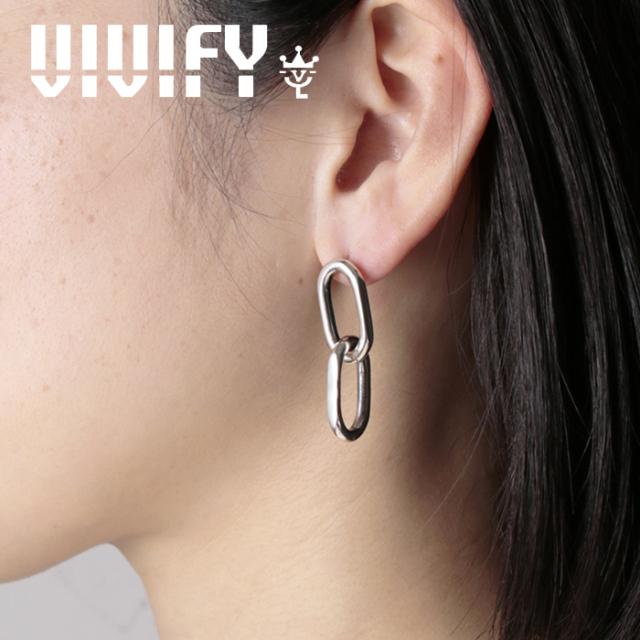 VIVIFY(ヴィヴィファイ)(ビビファイ) Twin Link Pieace 【VIVIFY ピアス】【VFNL-007】【オーダーメイド ハンドメイド 受注生産】