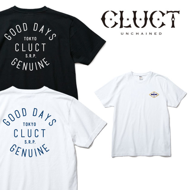 CLUCT(クラクト) S/S TEE GOOD DAYS 【CLUCT 2018 SPOT SUMMER VACATION新作】【02862】