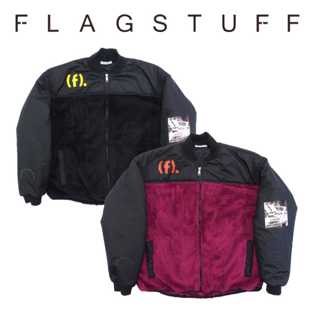 F-LAGSTUF-F(フラグスタフ) F/Z FLEECE JKT 【2018 AUTUMN&WINTER COLLECTION】 【F-LAGSTUF-F】 【フラグスタフ】【フラッグス