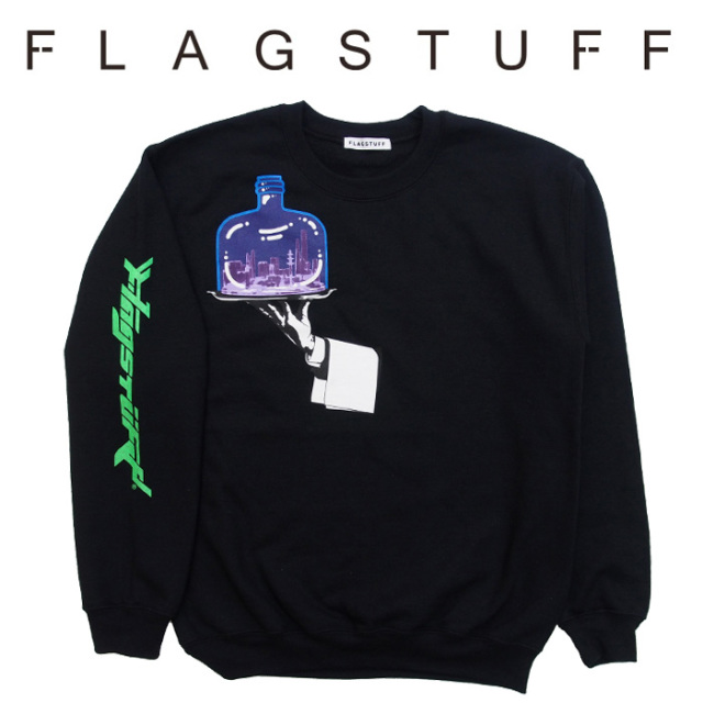 """F-LAGSTUF-F(フラグスタフ) """"Hand"""" SWEAT 【2018 AUTUMN&WINTER COLLECTION】 【F-LAGSTUF-F】 【フラグスタフ】【フラッグスタ"""