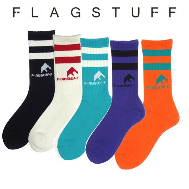 F-LAGSTUF-F(フラグスタフ) Mt LOGO SOX 【2018 AUTUMN&WINTER COLLECTION】 【F-LAGSTUF-F】 【フラグスタフ】【フラッグスタッ