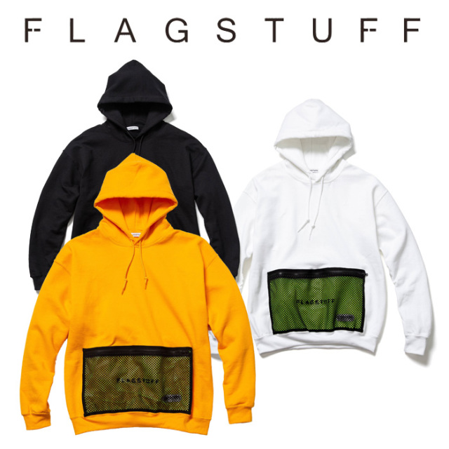 F-LAGSTUF-F(フラグスタフ) F-LAGSTUF-FxOUTDOOR PRODUCTS L/S HOODIE 【2018 AUTUMN&WINTER COLLECTION】 【F-LAGSTUF-F】 【フ