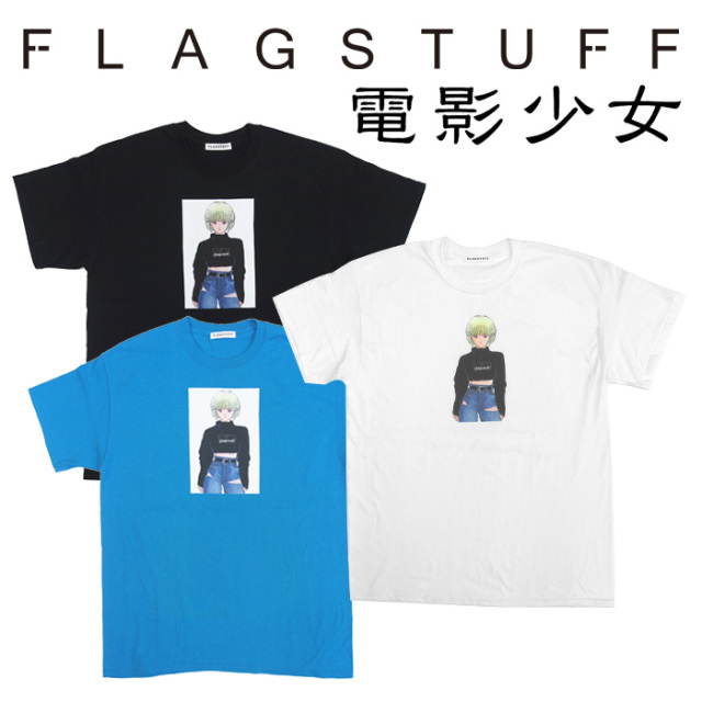 F-LAGSTUF-F(フラグスタフ)×VIDEO GIRL  TEE 2 【2018 AUTUMN&WINTER COLLECTION】 【F-LAGSTUF-F】 【フラグスタフ】【フラッグ