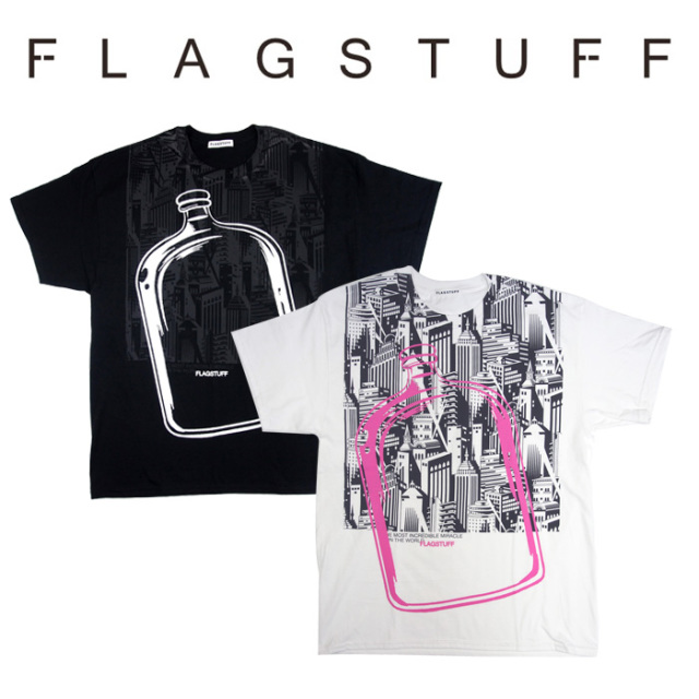 【SALE40%OFF】 F-LAGSTUF-F(フラグスタフ) Bottled City Tee 2 【F-LAGSTUF-F】【FLAGSTUFF】 【フラグスタフ】【フラッグスタ