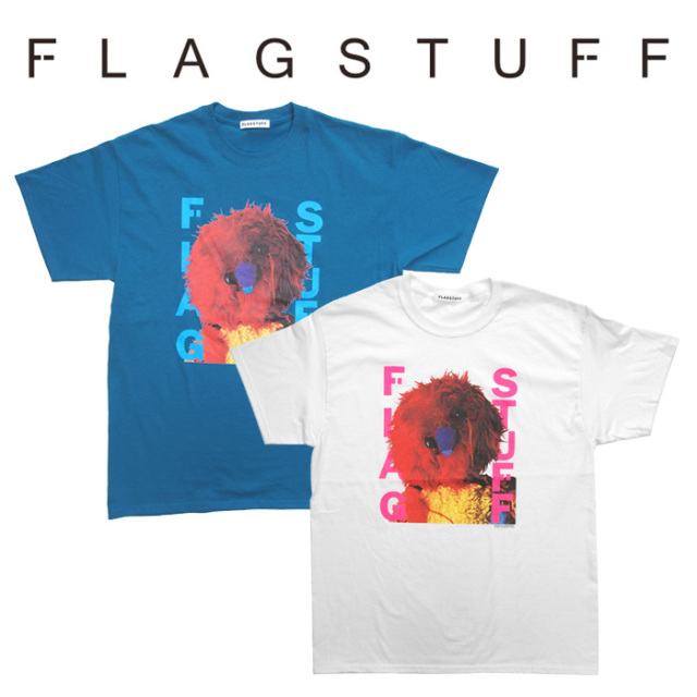 【SALE30%OFF】 F-LAGSTUF-F(フラグスタフ) MIX UP TEE 【2018 AUTUMN&WINTER COLLECTION】 【F-LAGSTUF-F】 【フラグスタフ】