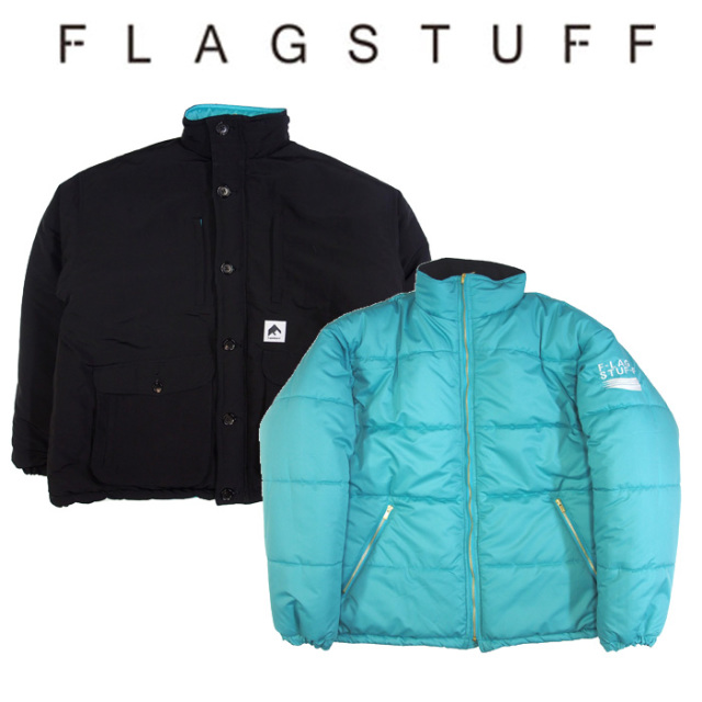 F-LAGSTUF-F(フラグスタフ) REVERSIBLE PUFF JKT 【2018 AUTUMN&WINTER COLLECTION】 【F-LAGSTUF-F】 【フラグスタフ】【フラッ