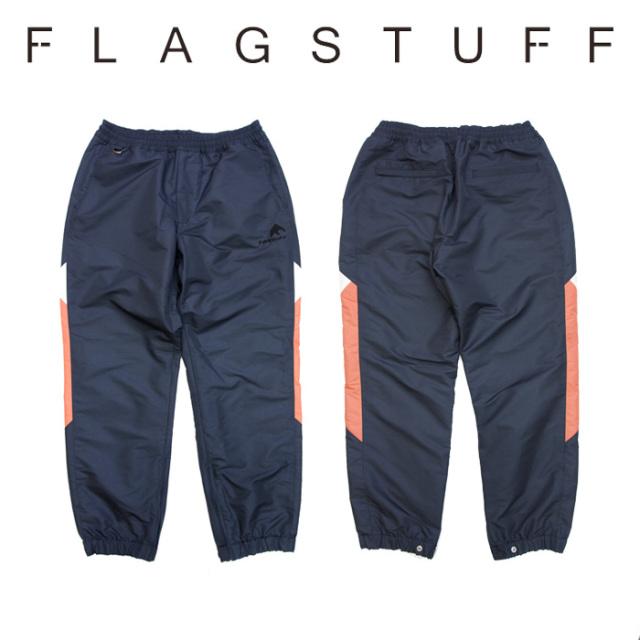 【SALE30%OFF】 F-LAGSTUF-F(フラグスタフ) NYLON TRACK PANTS 【2018 AUTUMN&WINTER COLLECTION】 【F-LAGSTUF-F】 【フラグス