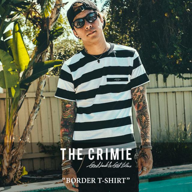 CRIMIE(クライミー) BORDER T-SHIRT 【2018SPOT先行予約】 【キャンセル不可】 【C1H3-C1G1-TE22】 【CRIMIE Tシャツ】