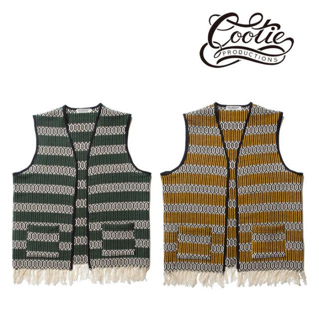 COOTIE(クーティー)Mexican Vest 【CTE-18S204】