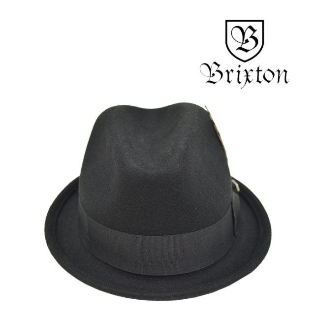 BRIXTON(ブリクストン) GAIN FEDORA 【2018SUMMER新作】 【即発送可能】 【BRIXTON ハット】