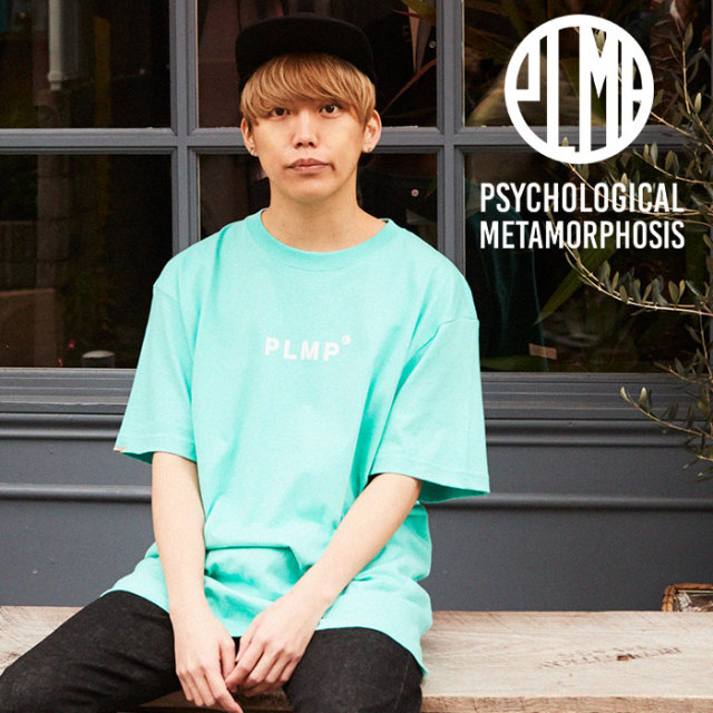 PSYCHOLOGICAL METAMORPHOSIS PLMP TEE 【PSYCHOLOGICAL METAMORPHOSIS  3rd collection新作】 【PL18-0101】 【image model : G