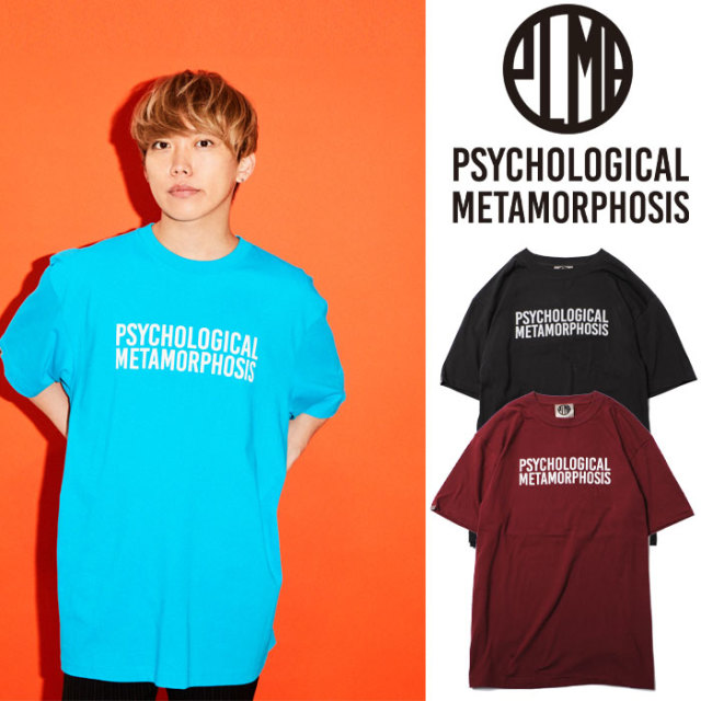 PSYCHOLOGICAL METAMORPHOSIS PLMP LOGO2 【PSYCHOLOGICAL METAMORPHOSIS  3rd collection新作】 【PL18-0102】【image model : G