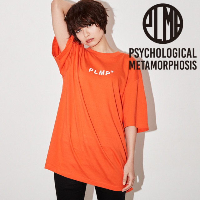 PSYCHOLOGICAL METAMORPHOSIS PLMP WORD TEE 【PSYCHOLOGICAL METAMORPHOSIS  3rd collection新作】 【即発送可能】 【PL18-0103