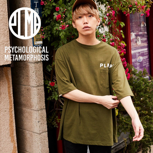 PSYCHOLOGICAL METAMORPHOSIS PLMP POCKET WIDE TEE 【PSYCHOLOGICAL METAMORPHOSIS  3rd collection新作】 【PL18-0106】 【ima