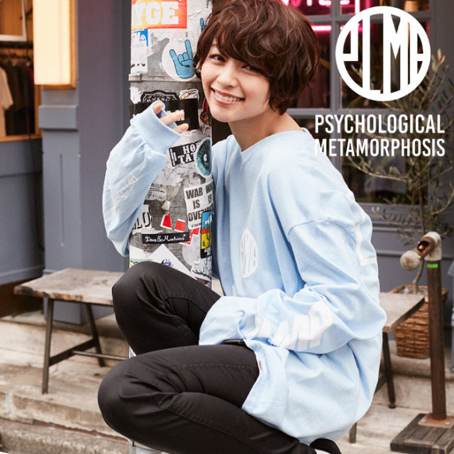 PSYCHOLOGICAL METAMORPHOSIS PLMP L/S MARK 【PSYCHOLOGICAL METAMORPHOSIS  3rd collection先行予約】 【キャンセル不可】 【P