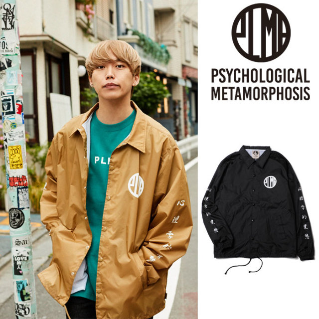 PSYCHOLOGICAL METAMORPHOSIS PLMP COACH JKT 【PSYCHOLOGICAL METAMORPHOSIS  3rd collection先行予約】 【キャンセル不可】 【