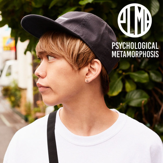PSYCHOLOGICAL METAMORPHOSIS PLMP LOGO CAP 【PSYCHOLOGICAL METAMORPHOSIS  3rd collection先行予約】 【キャンセル不可】 【P