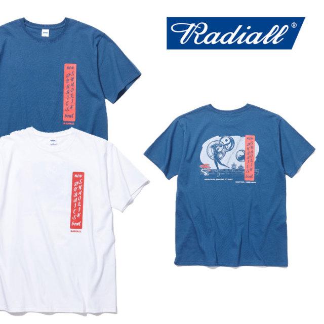 RADIALL(ラディアル) YIN YANG C.N. T-SHIRT 【2018 SPRING&SUMMER新作】 【RADIALL Tシャツ】 【RAD-18SS-TEE004】